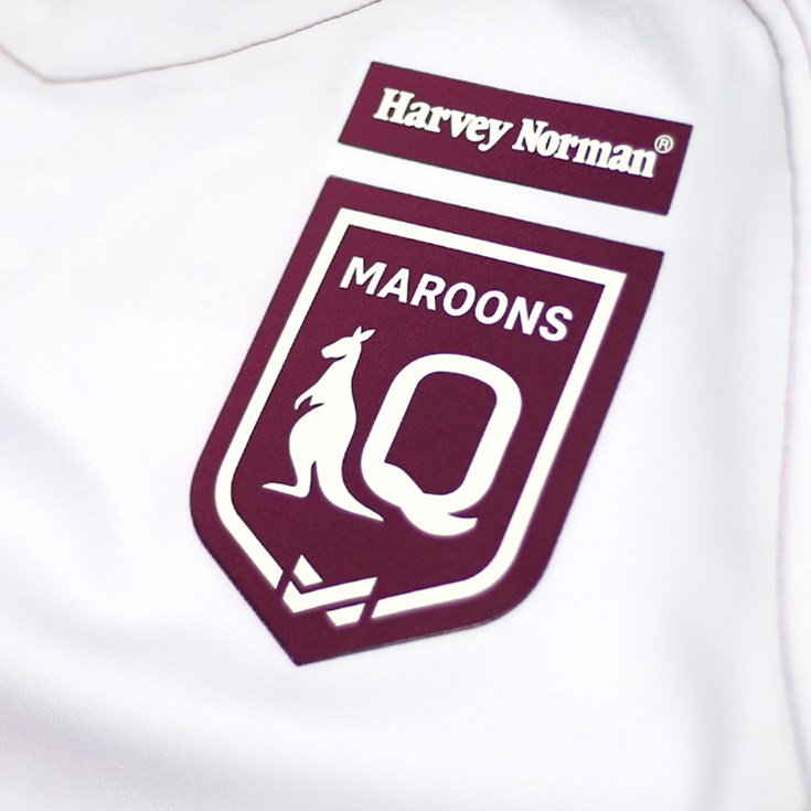 New logo for the Harvey Norman Queensland Maroons