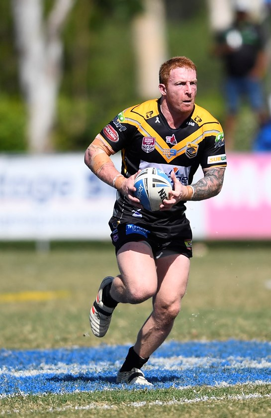 Dane Hogan's Sunshine Coast Falcons will face their closest competitors Burleigh Bears on Sunday.