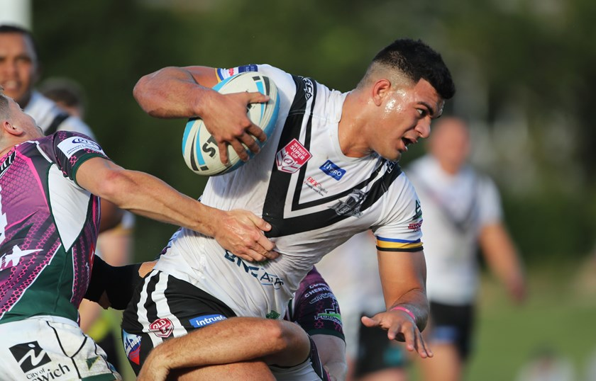 David Fifita in action for Souths Logan Magpies. Photo: QRL Media