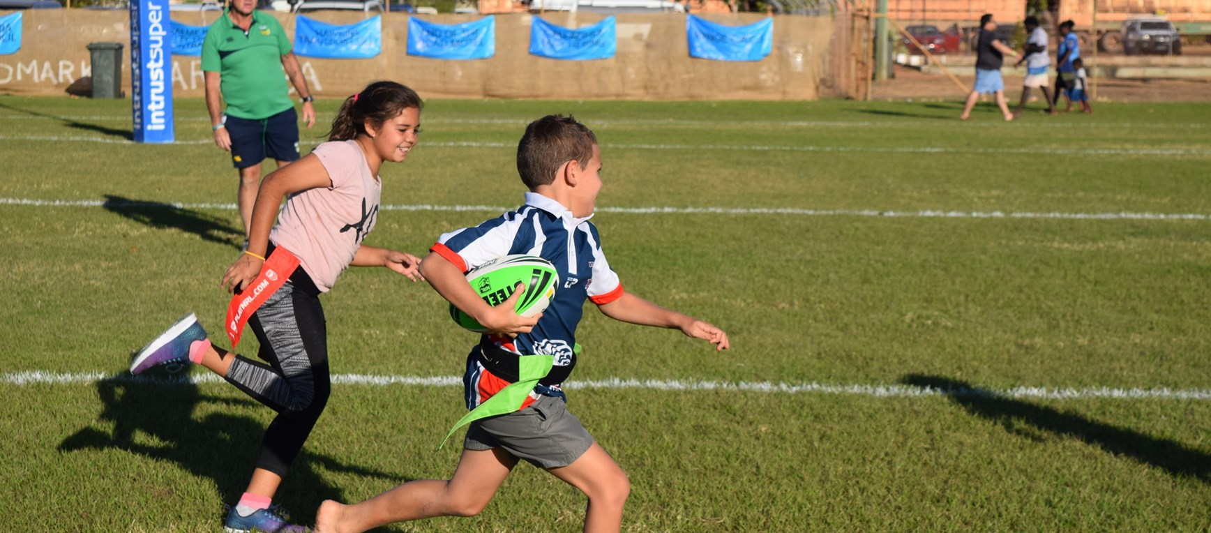 Gallery: Girls join boys for LeagueTag in Normanton