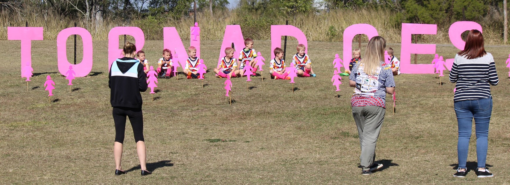 Karalee goes pink to support a great cause