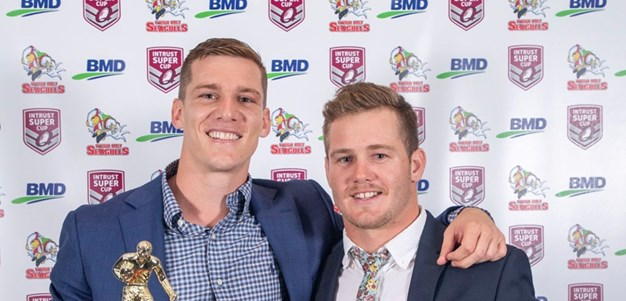 Wynnum Manly applaud their players of the year