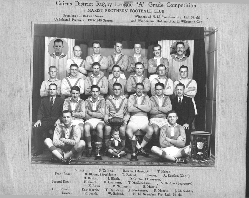 Feast of footy on the menu at Cairns Brothers reunion - QRL