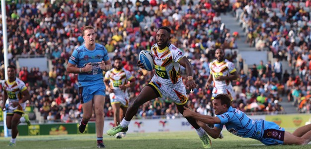 PNG Hunters overpower Capras in Port Moresby trial