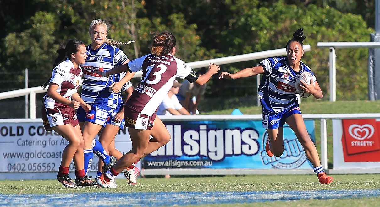 Burleigh and Brothers resume women's rivalry - QRL