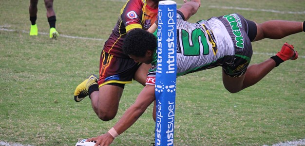 Blackhawks score eight tries in win over Hunters