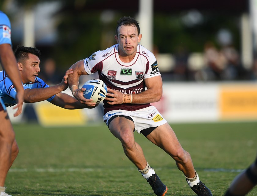 Kurtis Rowe in action. Photo: QRL Media