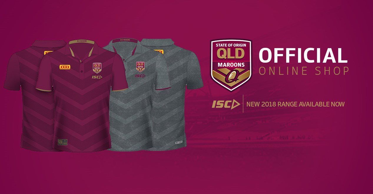 Online shop launches with ISC Maroons gear - QRL afe970197