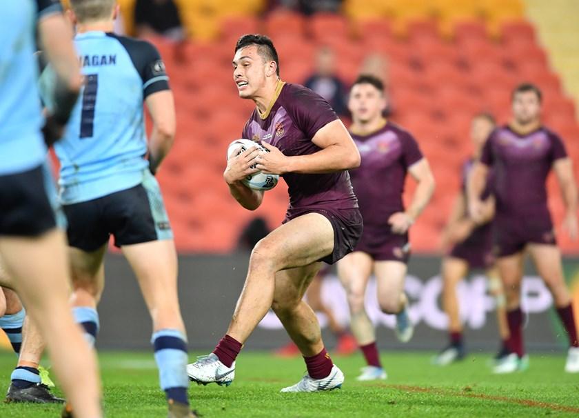 Tino Fa'asuamaleaui - Queensland Under 20's (2018)