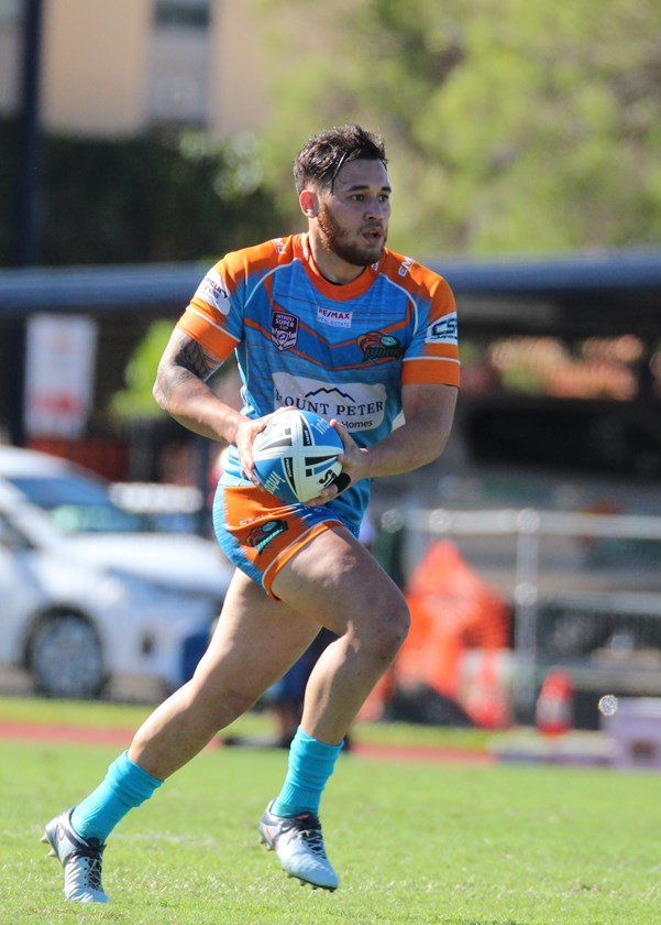 Northern Pride halfback Jordan Biondi-Odo has signed with Cairns Brothers club for season 2020. Photo: Maria Girgenti