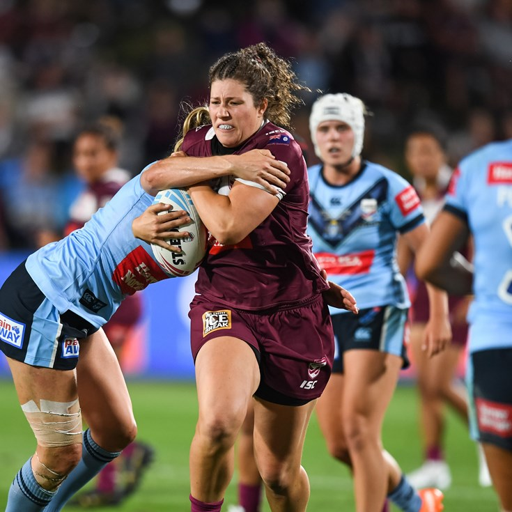 In pictures: Maroons secure home Origin win