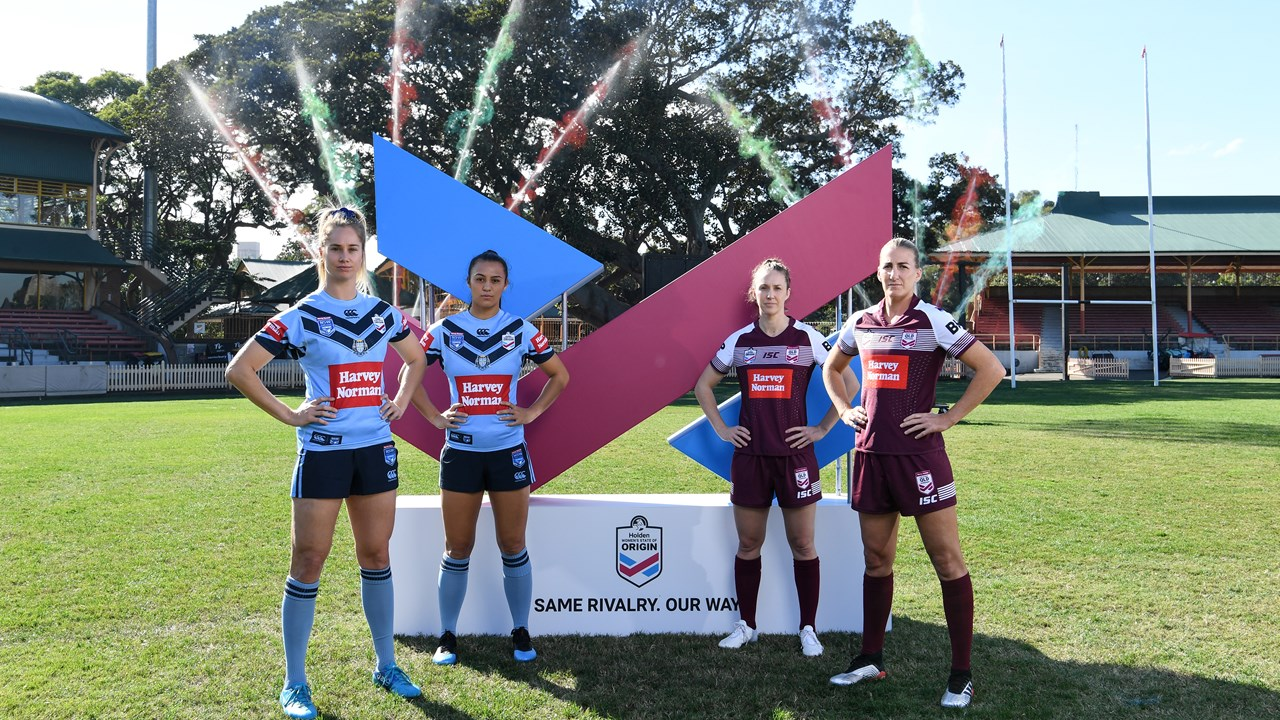 Holden Women S State Of Origin Launched Qrl