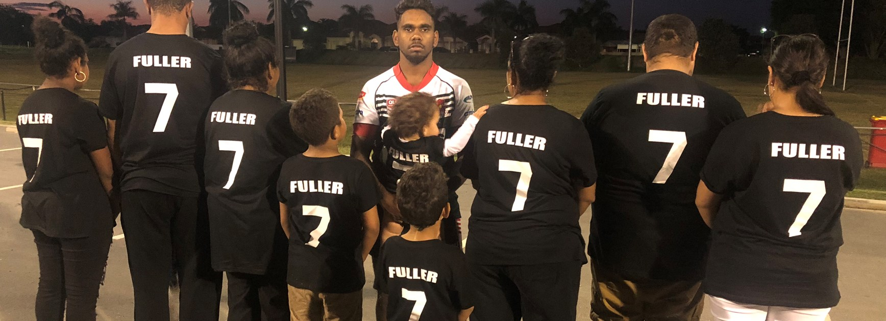 Fuller family support for rising Gold Coast player