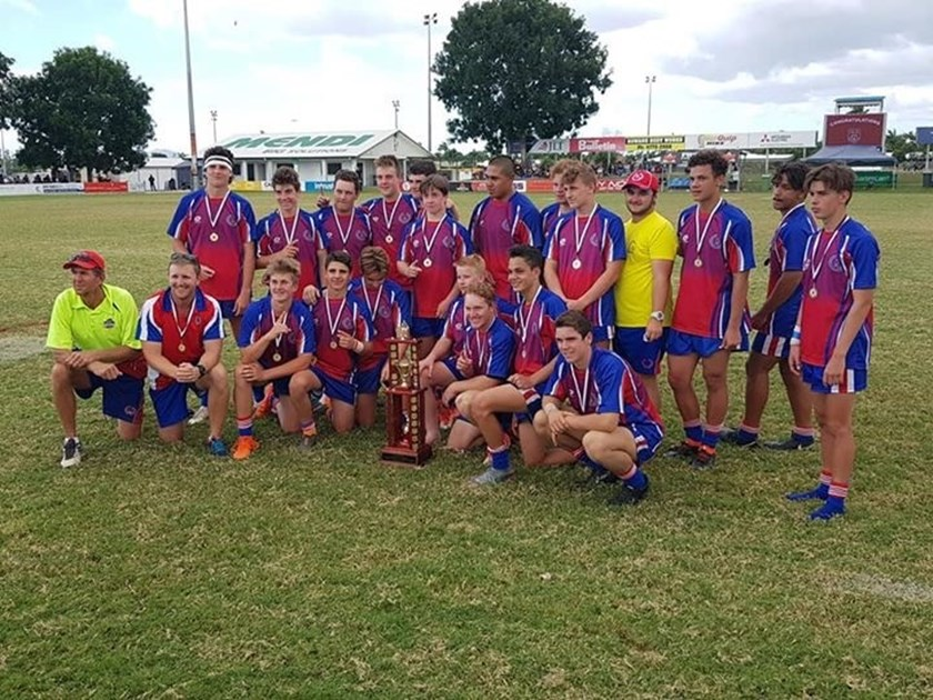 Darling Downs celebrate their win. Photos: supplied