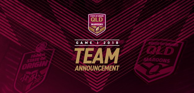 Maroons Game One team announcement