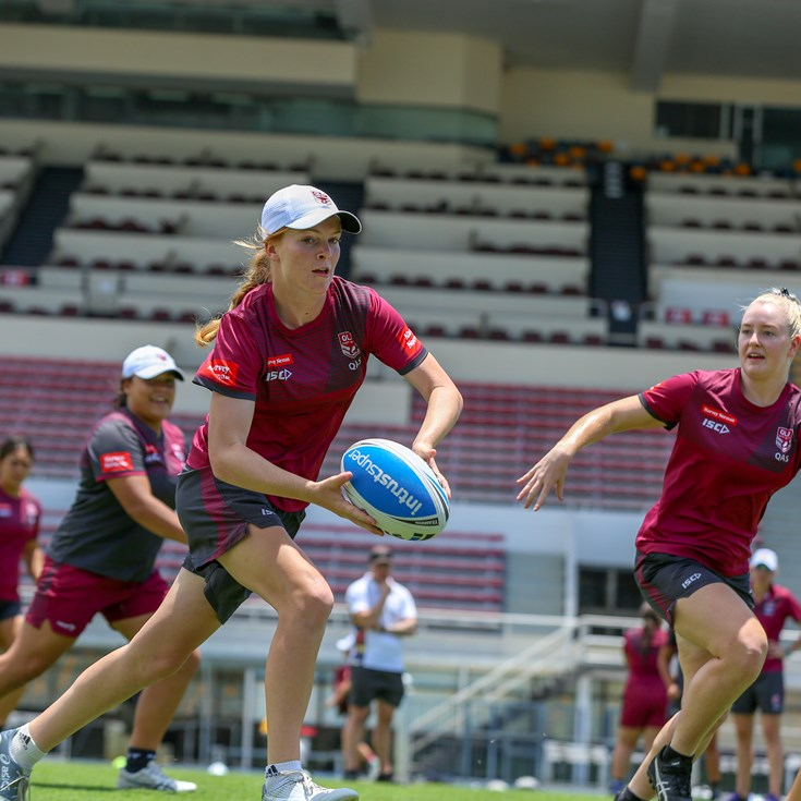 Hard yakka shaping young Queensland playmaker