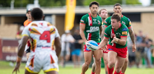 Wynnum Manly beat PNG after tight tussle