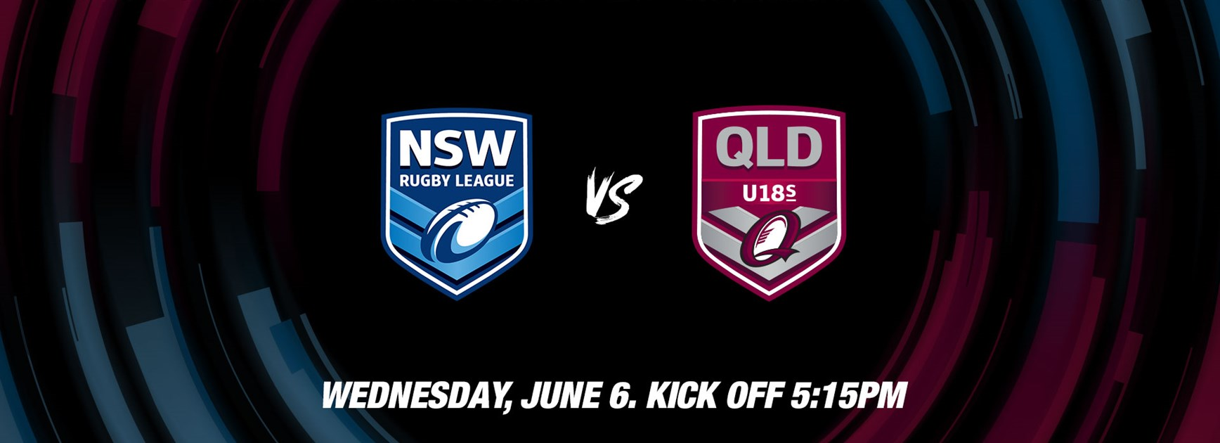 Under 18 Livestream: Queensland v NSW