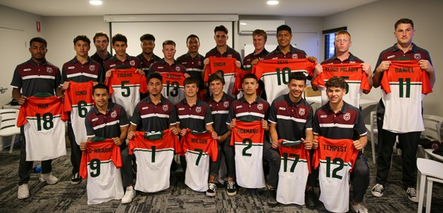 In pictures: Queensland Under 16 City jersey presentation