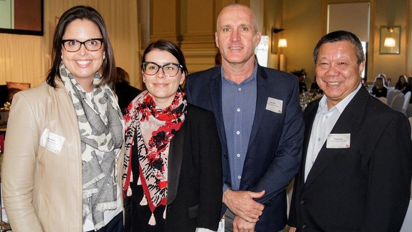 Guests were treated to discussions about the progress of female sport generally, and in rugby league specifically, including the first Women's State of Origin match.