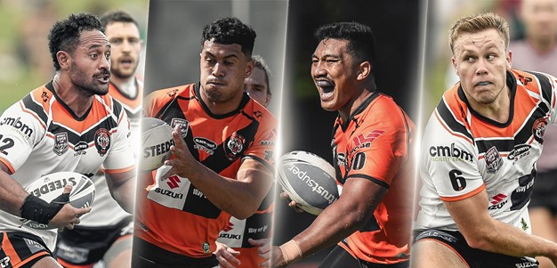 Easts Tigers' awesome foursome
