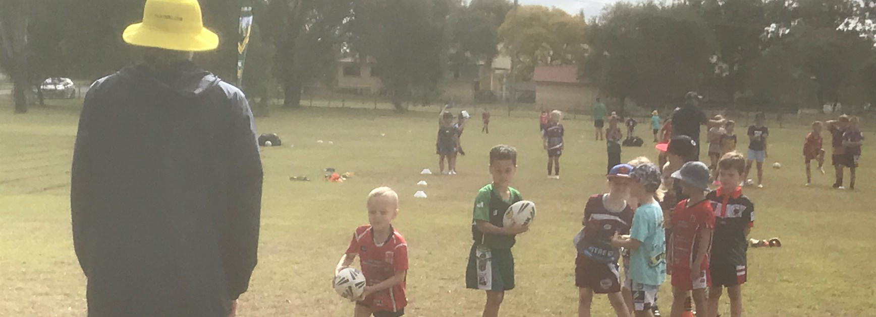 Toogoolawah juniors turn out for holiday clinic