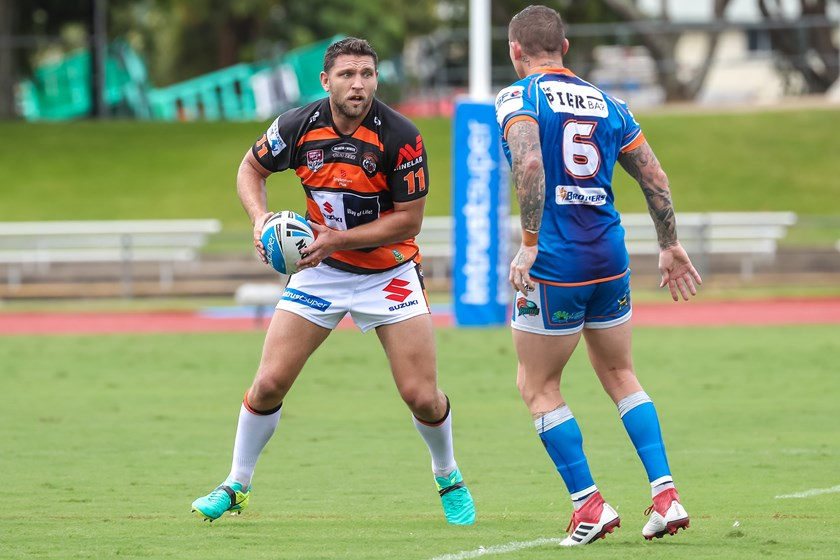 Jake Foster is one of a number of Easts Tigers players to recommit to the club in 2019.