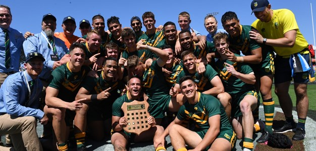 In pictures: Australian Schoolboys beat Junior Kiwis