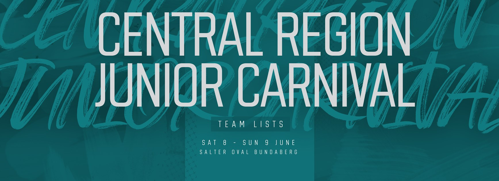 Central Junior Carnival team lists