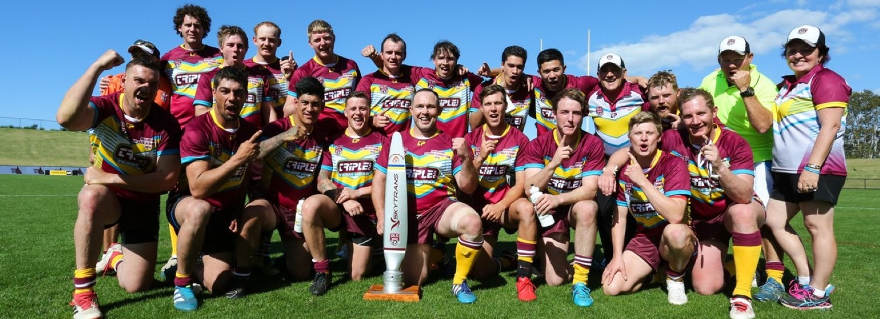 Queensland Outback break title drought