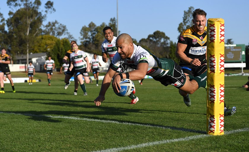 Marmin Barba - (Most tries - Ipswich Jets)