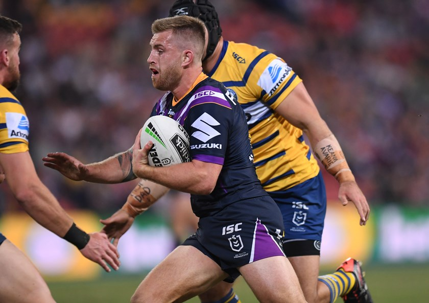 Cameron Munster in action against the Eels. Photo: NRL Images