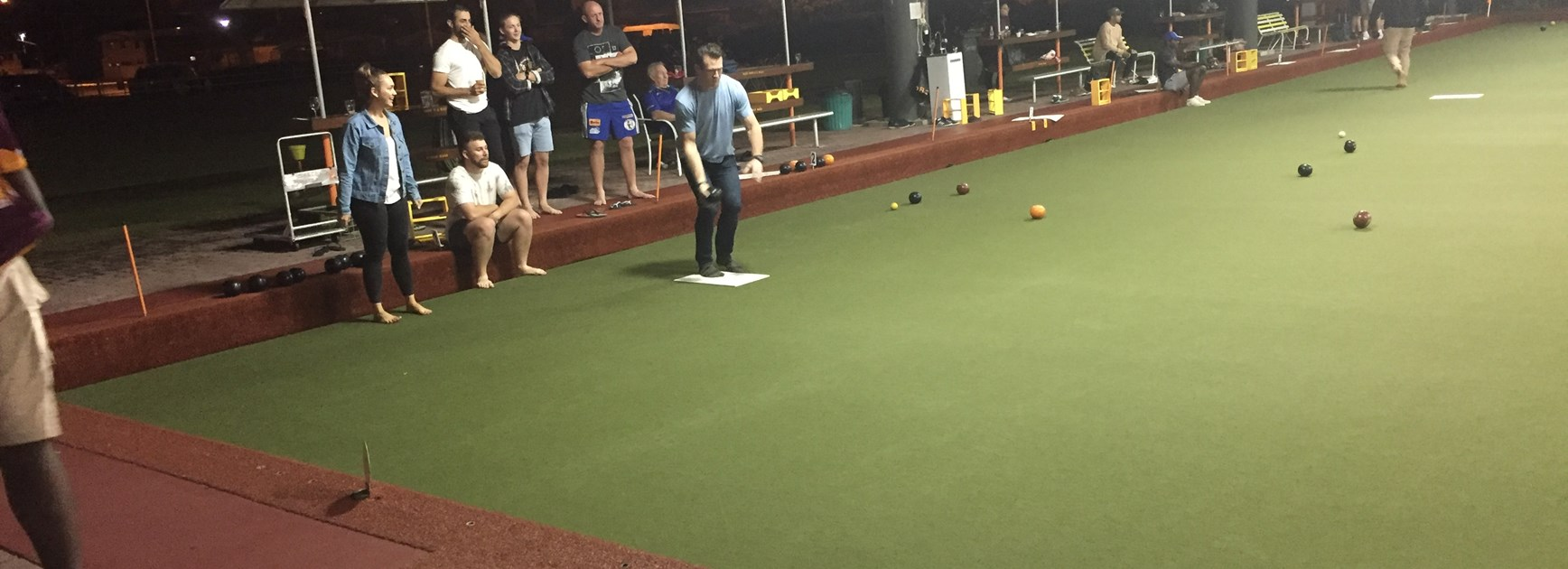 Cairns Brothers host annual bowls night in honour of Cate Dunbar