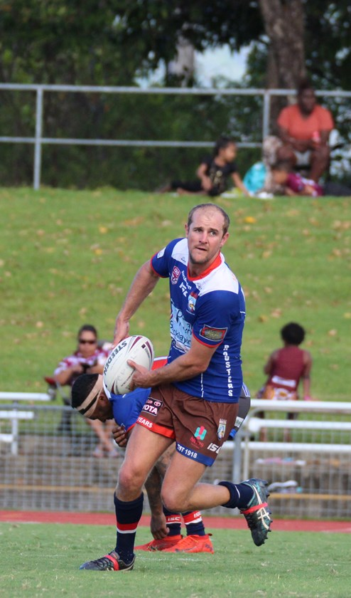 Darren Ball from Atherton Roosters is one of the top four contenders for the Reserve Grade Medal. Photo: Maria Girgenti