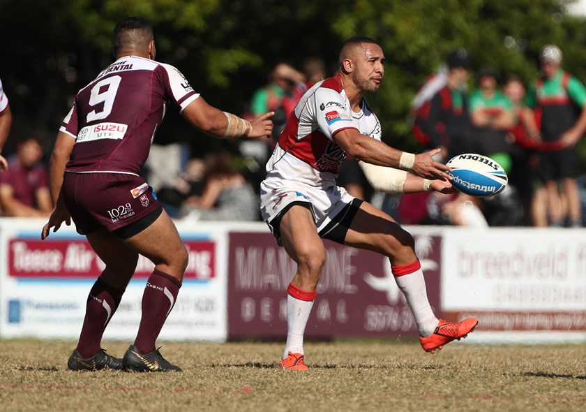 Jamil Hopoate has been in good form. Photo: QRL Media
