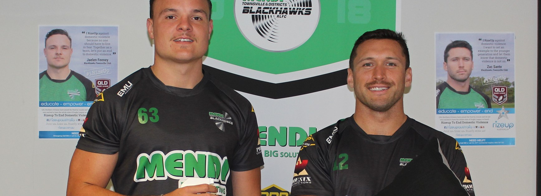 Blackhawks and Townsville region RizeUp