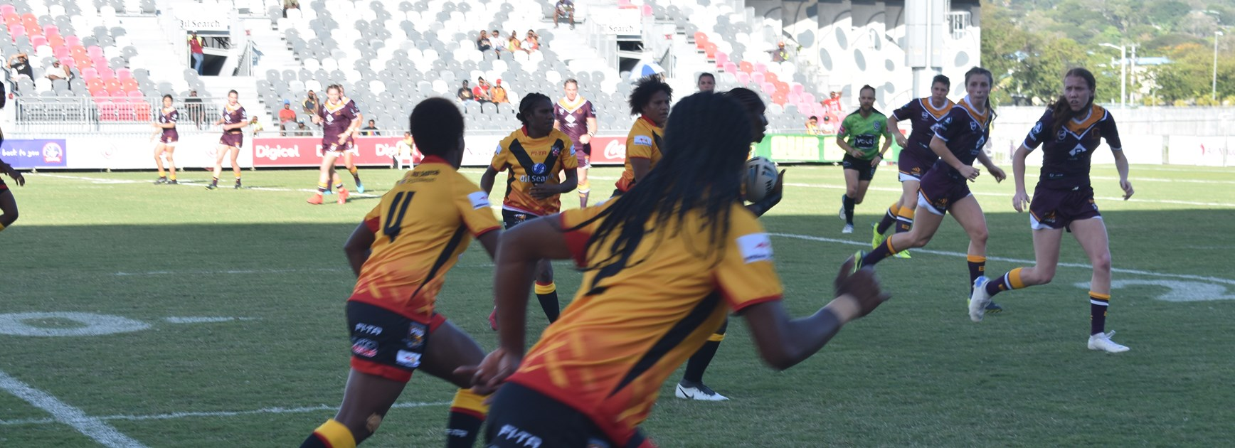 Broncos overcome spirited PNG Orchids