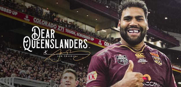 'There's no time like the present to get behind the Queensland team'