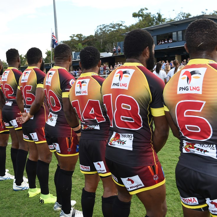 PNG Hunters name extended pre-season training squad