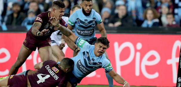 Blues chairman says NSW caught Maroons at opportune time