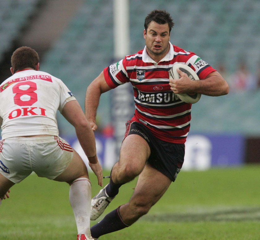 David Shillington in action for the Sydney Roosters. Photo: NRL Images