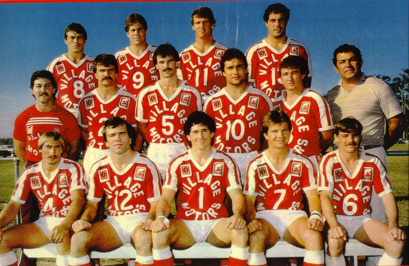 The Redcliffe Dolphins in 1984. Photo: Redcliffe Dolphins Media
