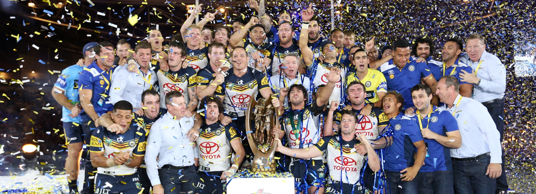 The NRL bracket: Cowboys named best premiers of 2000s