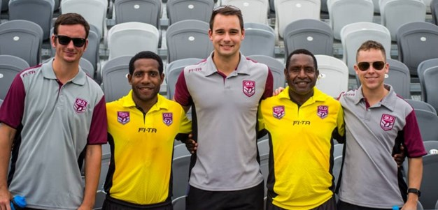 Pathways celebrated as PNG match official earns Cup nod