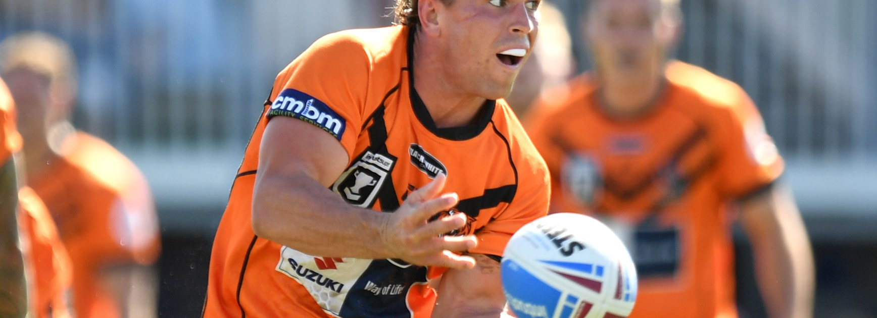 Tigers score seven tries to seal win against Jets