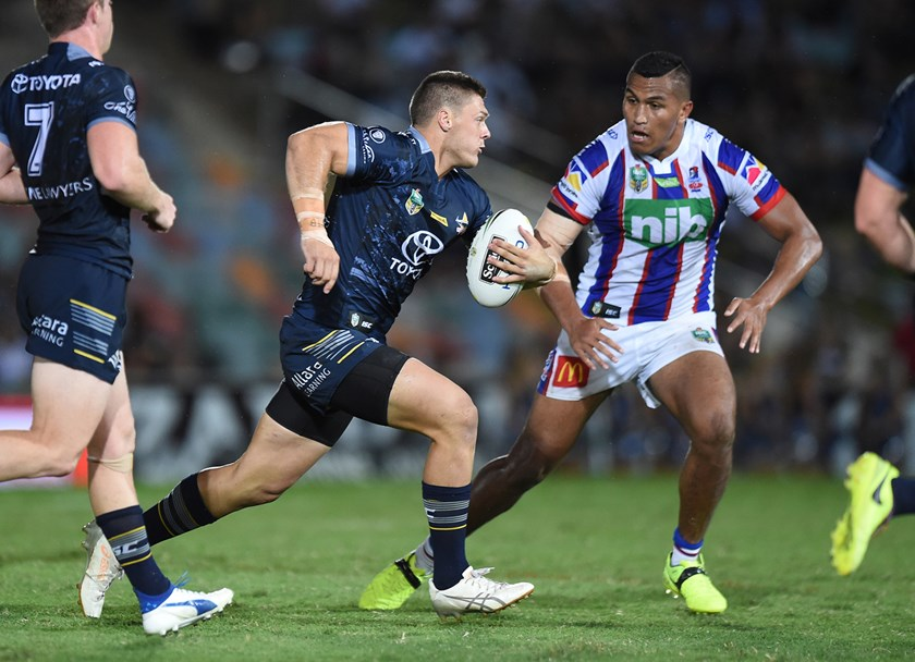 Corey Jensen is looking to cement his future with the North Queensland Cowboys.