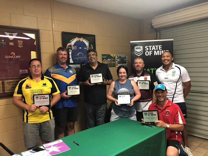 All South Burnett clubs were NRL State of Mind recognised last year.
