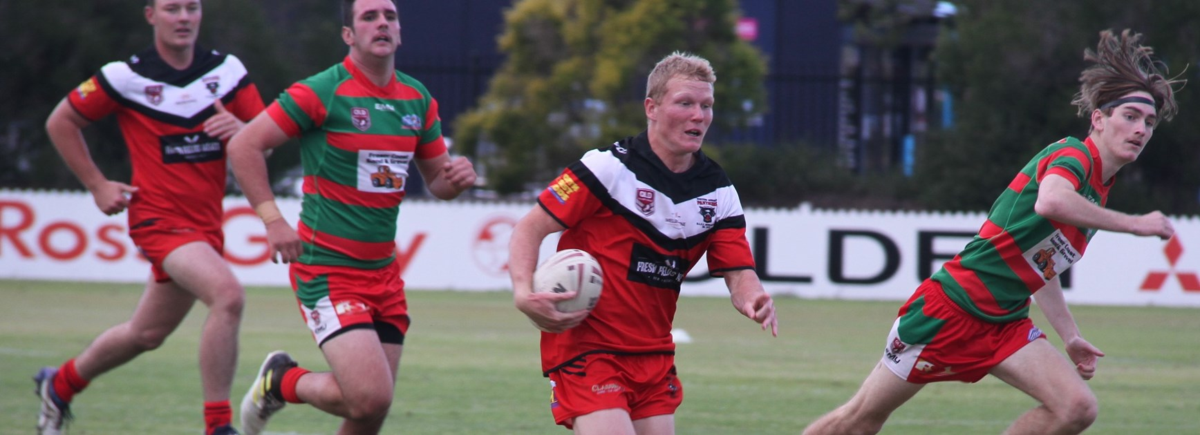 Wests Panthers purr into action against Hervey Bay Seagulls