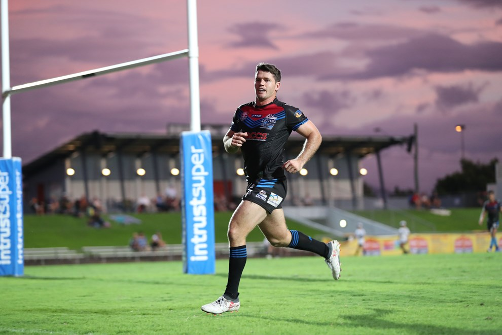 Lachlan Coote playing for the Mackay Cutters. Image Credit: Gordon Greaves.