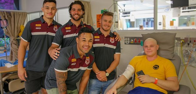 In pictures: XXXX Queensland Residents visit Gold Coast University Hospital